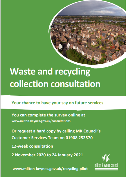 Waste and recycling poster